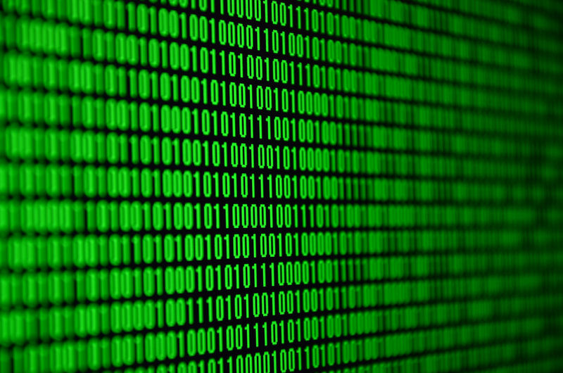 Green Color Technology Pattern No People Backgrounds Full Frame Close-up Studio Shot Data Selective Focus Indoors  Cyberspace Binary Code Computer Copy Space Computer Monitor Abstract Black Color Black Background Computer Language Electrical Equipment