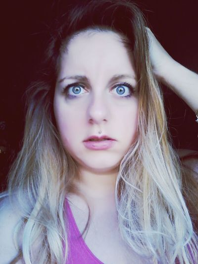 Brondehair Blonde Girl Blue Eyes Selfie ✌ Girlswithpiercings Me Myself And I Girls That's Me Perplexity Pircing
