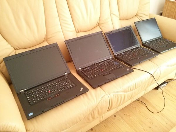 A history of Lenovo ThinkPad : T530, T400, X200 and X61s - I love them all