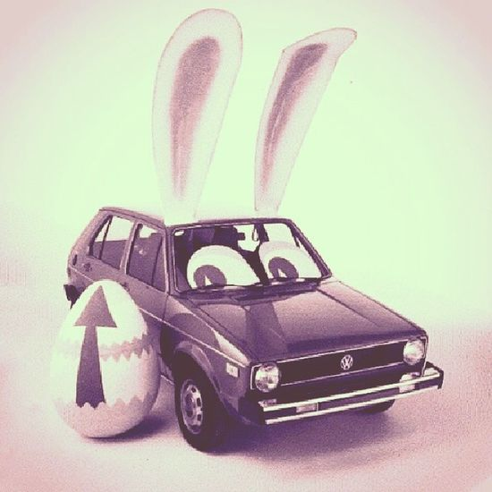 Happy Easter from Easter Bunny ;) HappyEasterWish Easterbunny @vw Godblessyou SpreadTheLove ShareHappiness