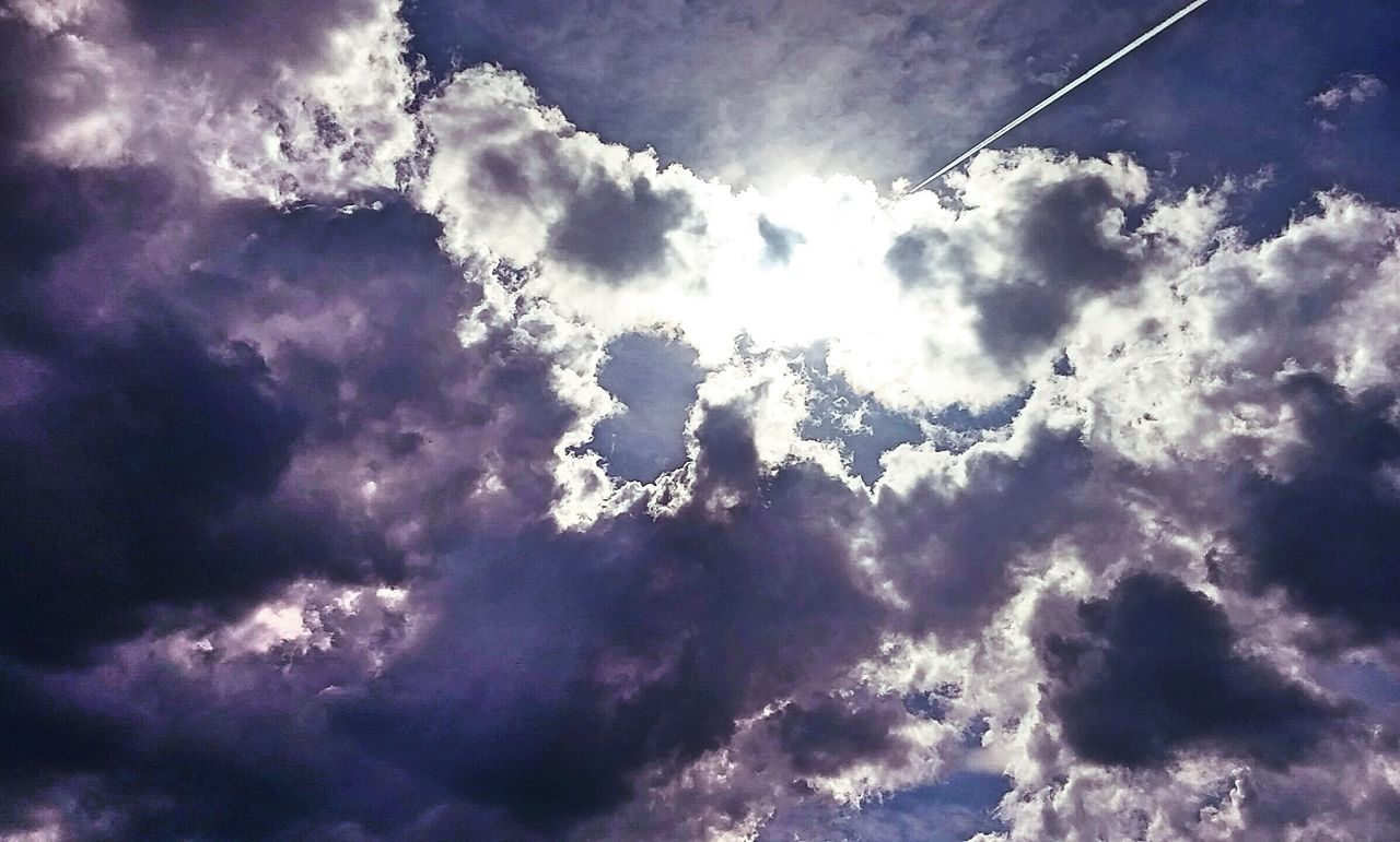 low angle view, sky, nature, beauty in nature, cloud - sky, outdoors, no people, day, scenics, tranquility