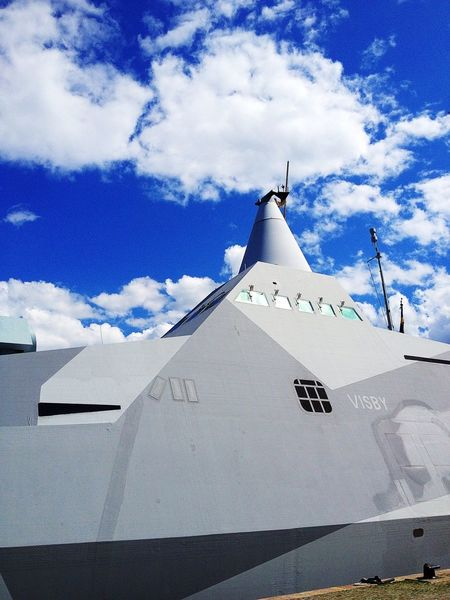 Hide And Seek Sky_collection Stealth HMS Visby