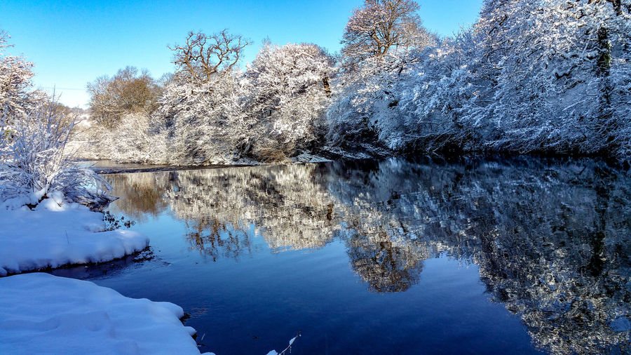 Cold Stillness Hafen Severn River Winter River Severn River Severn In Newtown, Winter Weir Snow Today Nature Reserve Blue Sky Wales UK Cold Temperature Water Reflection Still Water зима Water Reflection Nature Blue Lake Outdoors Sky Beauty In Nature Day Scenics Close-up Tranquility No People
