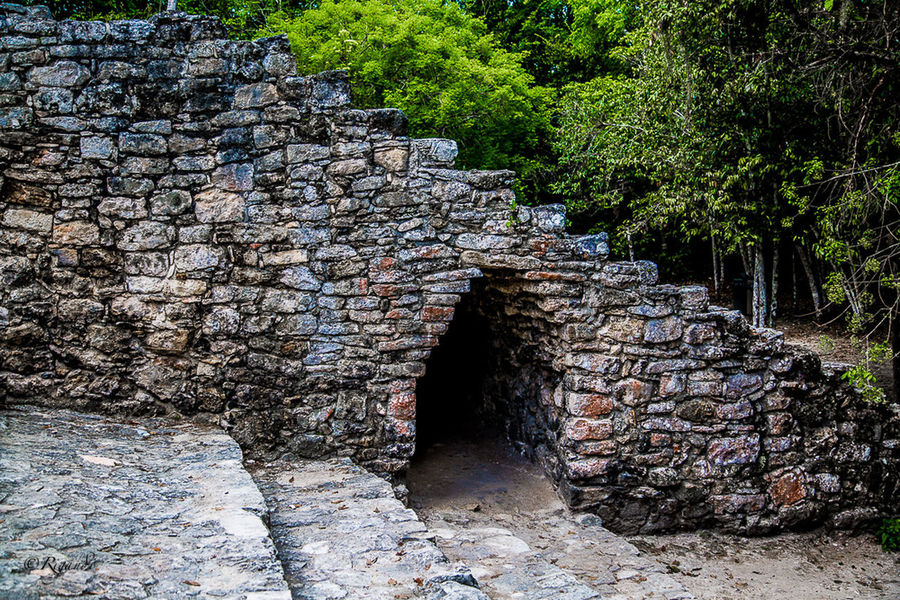 gateway to the underworld Ancient Cultures Architecture Day Mayan Ruins Nature No People Outdoors Rock - Object