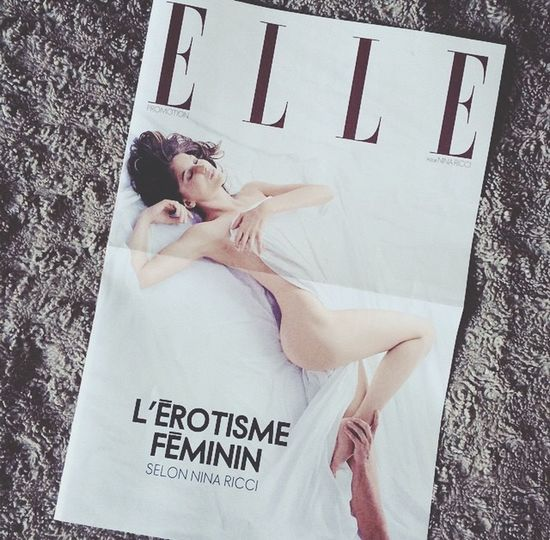 Elle Magazine Sensuel Photo
