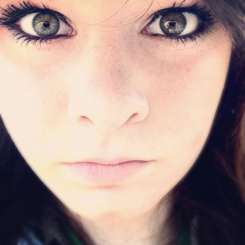 Beautiful Eyes Taking Photos Girl