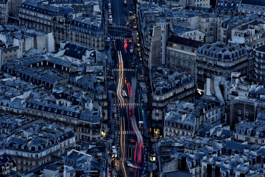 Light Night Lights Night Photography Nightphotography Paris Paris ❤ Paris, France  Aerial View Architecture Building Exterior Built Structure City Cityscape Day Full Frame High Angle View Long Exposure Night Night View Nightlife No People Outdoors Street Street Photography Streetphotography