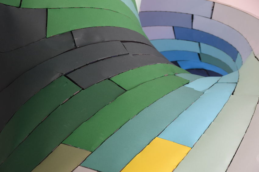 Paper City - an installation for Hull 2017 - Hull City Of Culture 2017 Close-up Day Green Color Hull Hull 2017 Hull City Of Culture 2017 Hull2017 Multi Colored Nature No People Outdoors Paper Paper City Pattern Sky