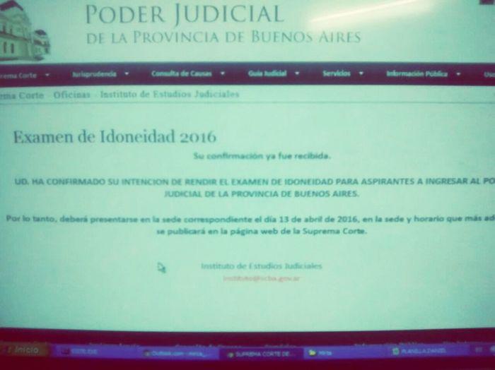 Examen Judicial