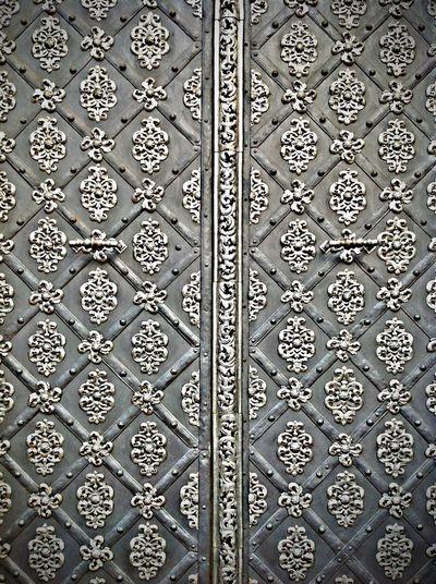 Antique silver door. Antique Door Doorporn Silver  Ornaments Old Architectural Detail ArtWork Ironwork  Grey EyeEm Bestsellers