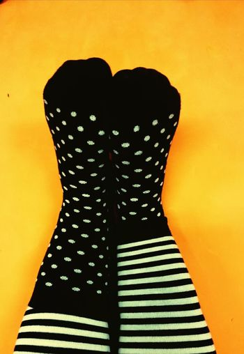Yoga dots and stripes... (09th December 2015) Dots Zebra Stripes Black And White Contrast Socks Cellphone Photography My World Little Things Things I'm Thankful For One Photo Every Day December 2015 Feet Happy Feet Happy Feet. ❤❤ TK Maxx Socksie