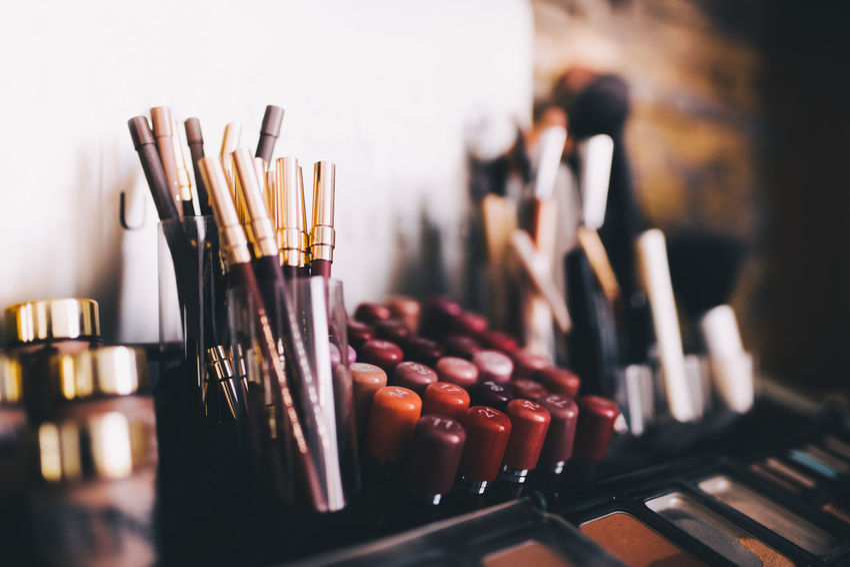 Eyeshadow Lipstick Make-up Makeup Beauty Beauty Care Brush Color Eyeliner No People Rouge Skin