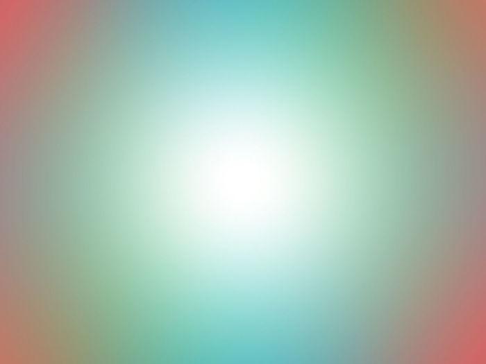 Defocused image of lights against blue background