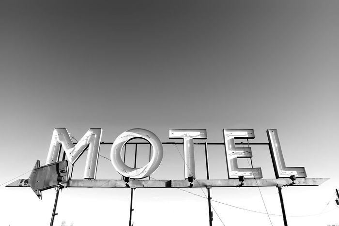 Accomodation Motel Information Medium Arrow Arrow Symbol Motel Sign Symbol Signage Sleepy Motels B&w Copy Space Old Sign Accomodations Text Pointing Service No People Black And White Friday