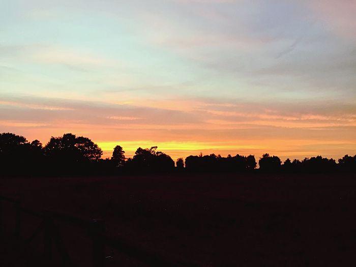 Landscape Sunset Beauty In Nature Naturelovers Nature Cloud - Sky Himmel