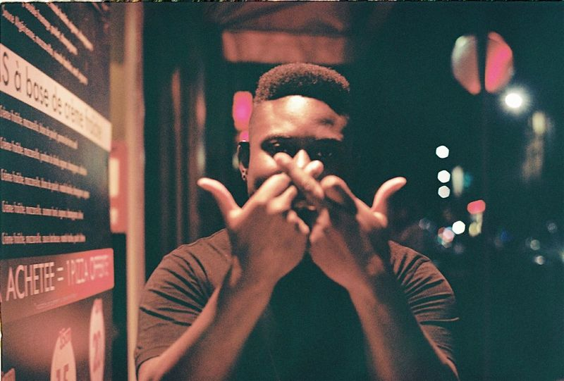 Double Headshot Young Adult Streetphotography Multi Colored IShootPeople Analogue Photography Portrait 35mm Film Film Photography Portra 160 Filmisnotdead Ishootfilm EyeEm Best Shots Bordeaux Blackpeople Thug The Street Photographer - 2018 EyeEm Awards