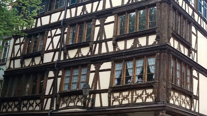 Alsace Architecture Building Exterior Built Structure Colombages Maison à Colombages Strasbourg Timbered House Window Samsung Samsung Galaxy J5 The Architect - 2017 EyeEm Awards BYOPaper!