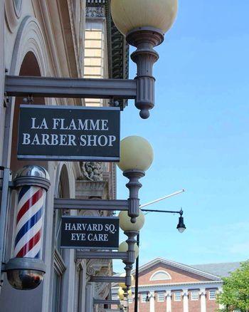Barbershop Harvardsquare Cambridge MA Massachusetts