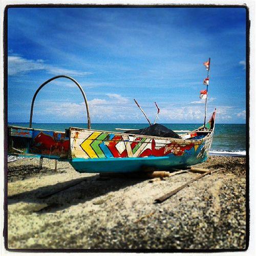 Ship Beach Insatoday Instapic tagforlike holiday ujungtanjung photography instaphoto seascape