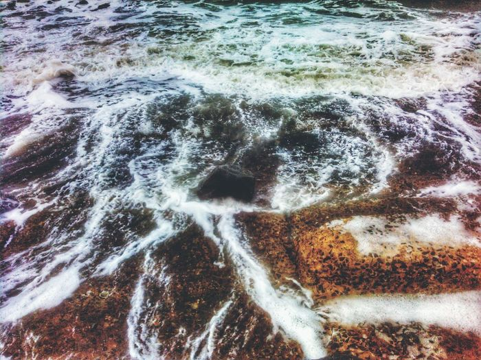 Water Nature Motion High Angle View No People Day Outdoors Beauty In Nature Wave Sea Close-up Bay Of Bengal India EyeEmNewHere 3XSPUnity Digha Sea Beach Beauty In Nature Pattern