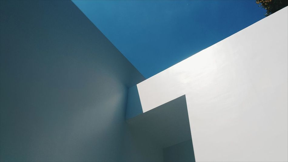 Alley Architecture Art Blue Gallery Museum Sky Sky100 Thailand