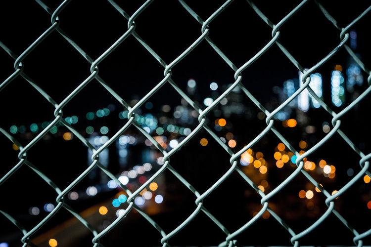 Full Frame Shot Of Chainlink Fence