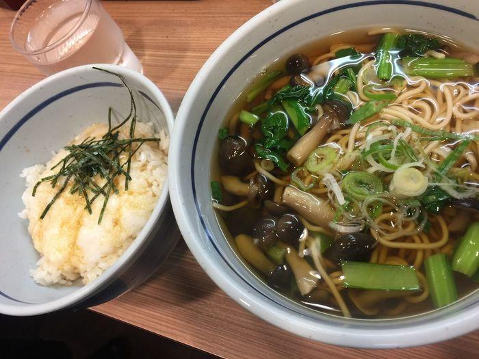 Soba Noodle Soup Soba Noodles Japanese Food Tokyo Tokyo Street Food