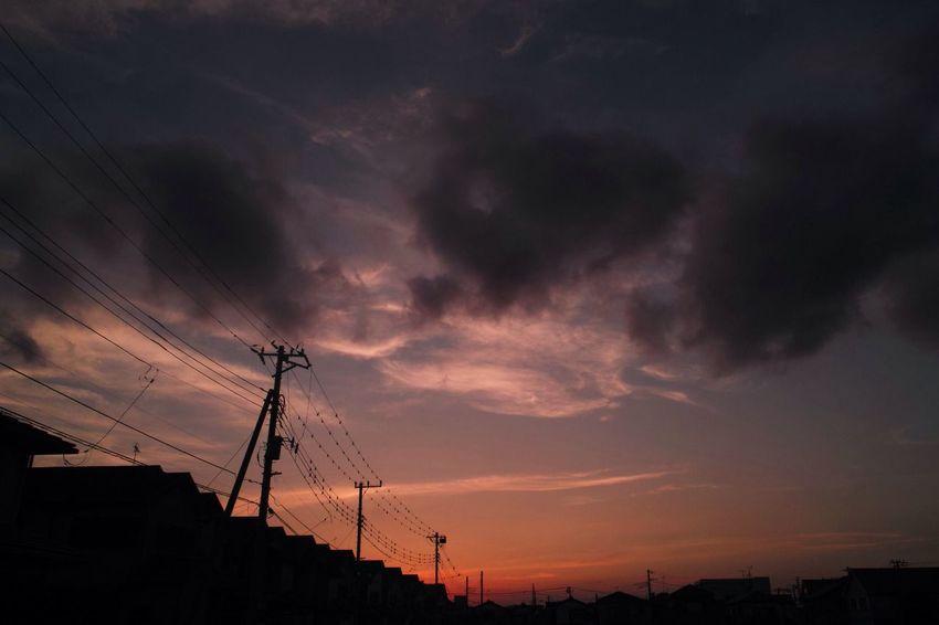 おつかれさま。まだ30℃あるよ。 SigmaDP1X Twilight Sunset Afterglow おつかれさま