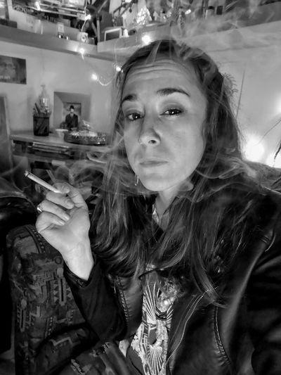 Portrait Social Issues Headshot Women Close-up Bad Habit Cigarette Lighter Smoking Smoking Issues Cigarette  Marijuana Joint