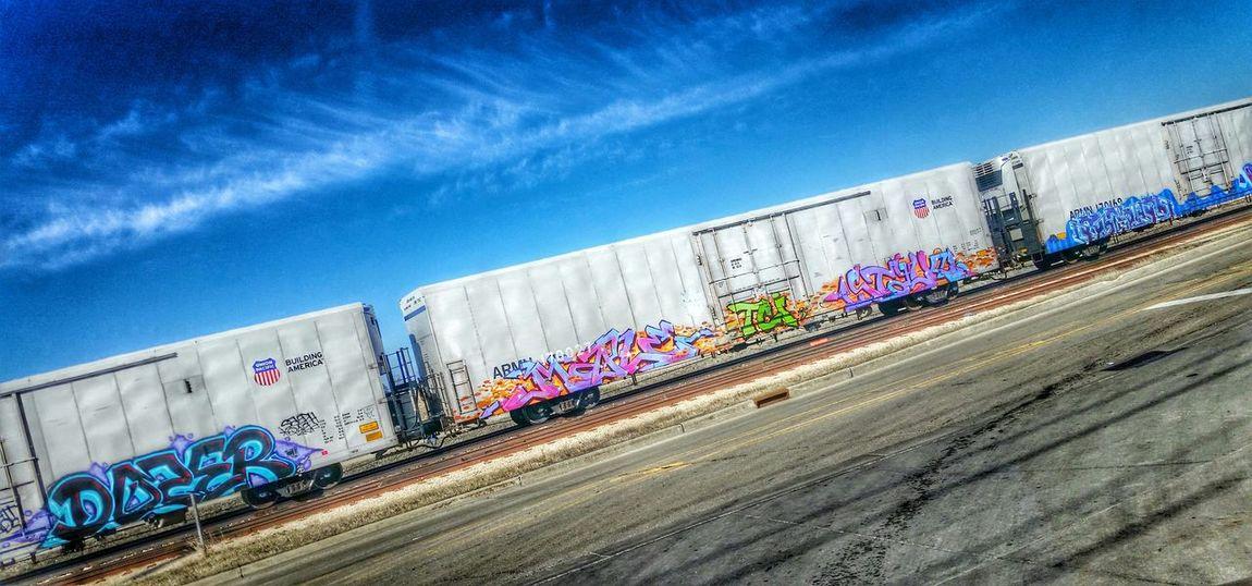 Train Taking Photos My View Trainporn Graffiti Train Art