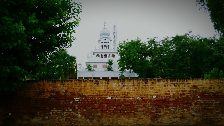 Tree Built Structure Architecture Day Building Exterior No People Outdoors Sky City gurdwaraSahib