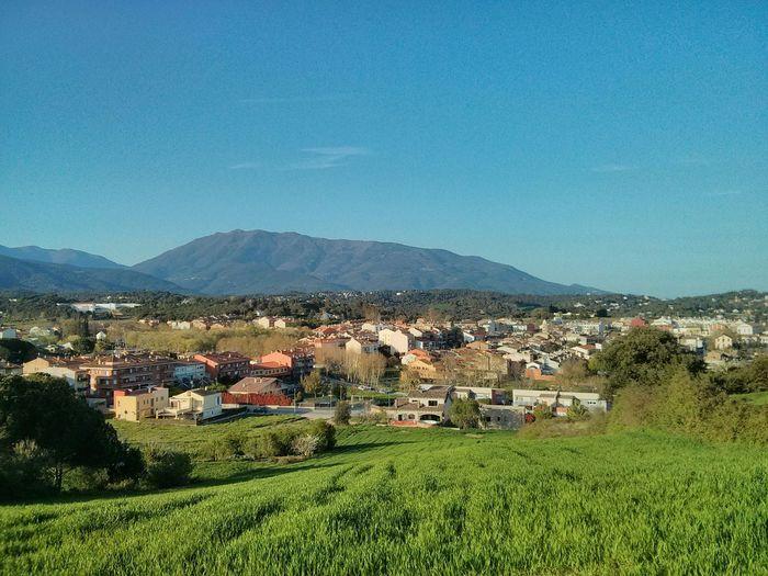 Vista de Sant Antoni de Vilamajor