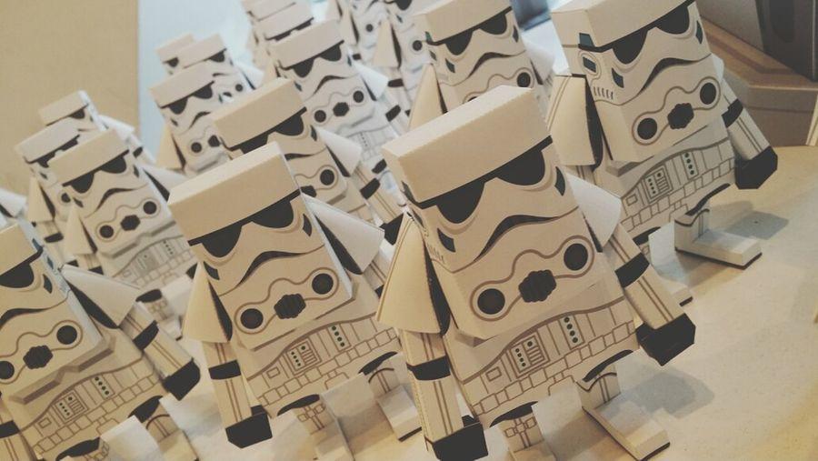 Starwars Paper Toys