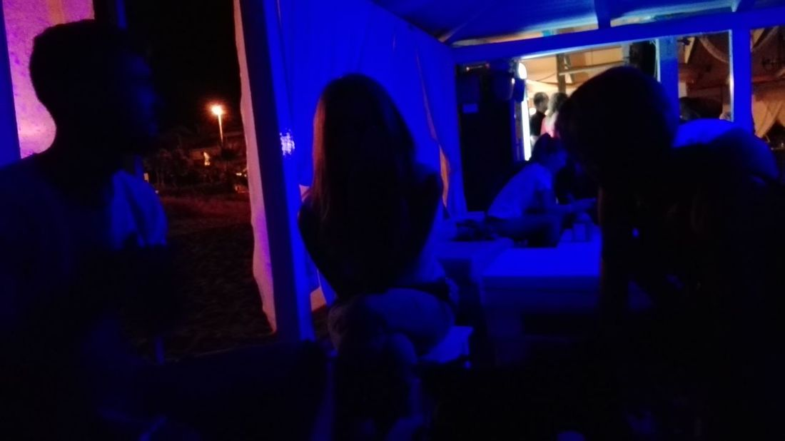 The Color Of Technology Lights Nightphotography Night Lights My Friend ❤ Hello World Sardinia Sardinia Experience Enjoying Life Huawei Huaweiphotography No Filter No Edit Blu Lights Silhouettes