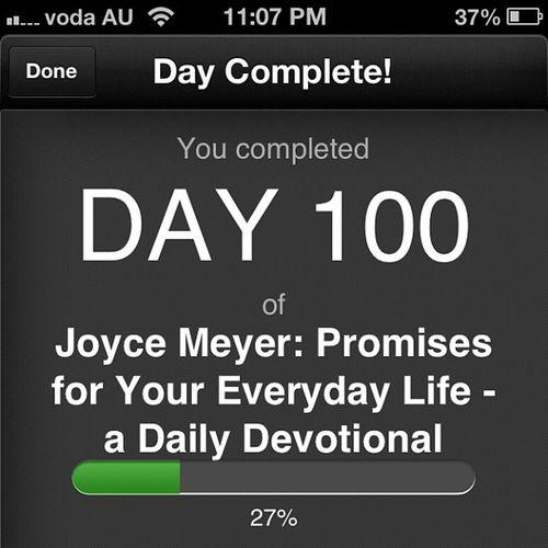 Devotion Joycemeyer 100thday Dailydevotion