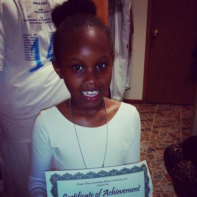 My niece???? at her dance recital. so proud of her