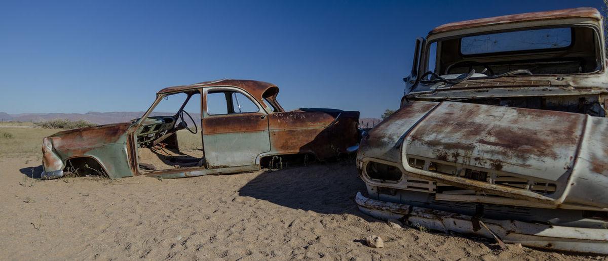 Old Carwrecks