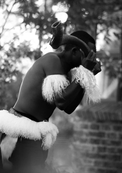 Blowing Kudu Kudu Horn Music Music Is My Life Musical Instruments South Africa Traditional Costume Traditional Culture Traditional Music