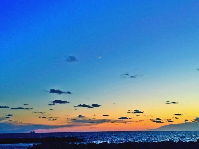 Moonset 🌙🎶