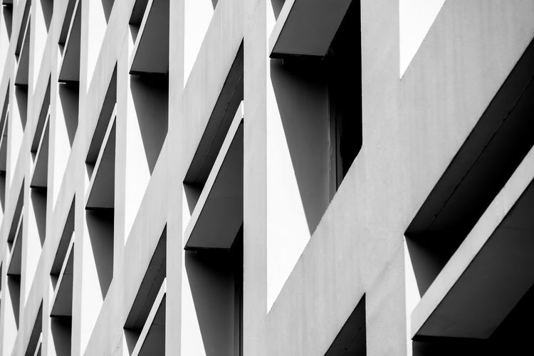 Built Structure Architecture Building Exterior No People Low Angle View Full Frame Pattern Building Backgrounds Day Outdoors Design Sign Close-up White Color Modern City Sunlight Communication Nature