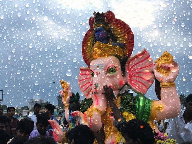 Ganesh nimajjan Religious Celebration