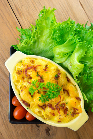 macaroni and cheese homemade food Close-up Day Directly Above Egg Food Food And Drink Freshness Green Color Healthy Eating High Angle View Indoors  Lettuce No People Plate Ready-to-eat Table Vegetable