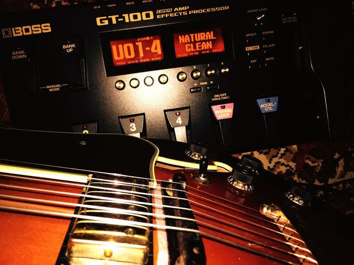 Lets play music with Ibanez Guitars Gt100