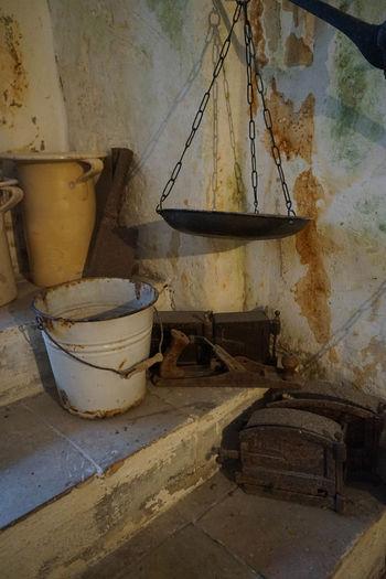 Ancient Matera Old Paesant Dwelling Cave House Domestic Room Furniture Historic Old Sassi Di Matera Unesco