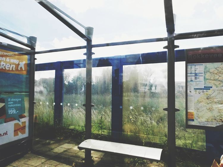Busstop Streetphotography Naturelovers View From The Window... The Traveler - 2015 EyeEm Awards