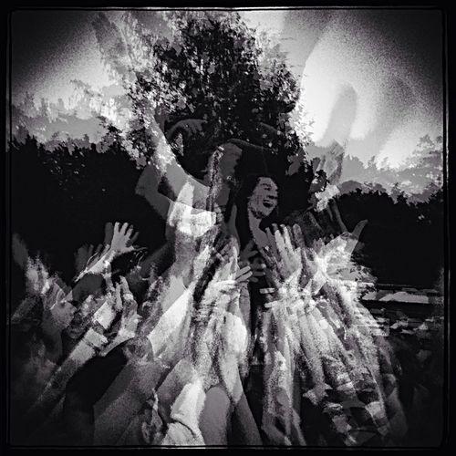 The Moment - 2014 EyeEm Awards Blackandwhite concert people