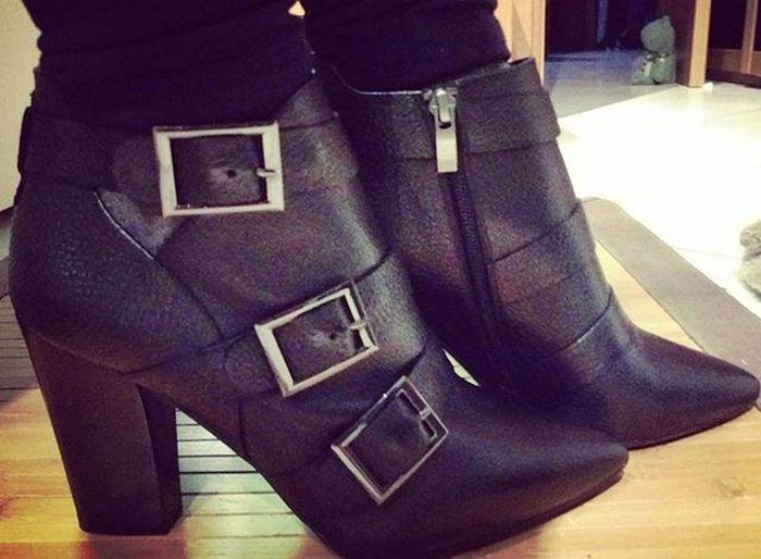 "My new ""rock"" shoes!!! 😜😝😎👢😍😍 Thanks to @renata86mogeneveshoes 😁😍❤ MyNewShoes Brunopremi Chiara Picoftheday Picture Lemienuovescarpe Shoesoftheday Ioelemiescarpe Stiletto Stilettoacademy Tacconontitemo Tacco10 Mystiletto HighHeels Me Ilovemyshoes"