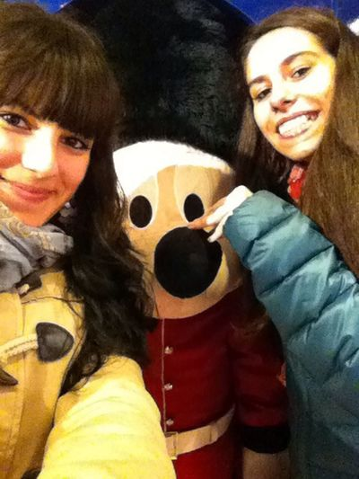 Selfie ? ? London Disneystore Friend Enjoying Life