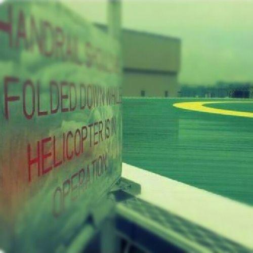 Helicopter landing area-Helideck