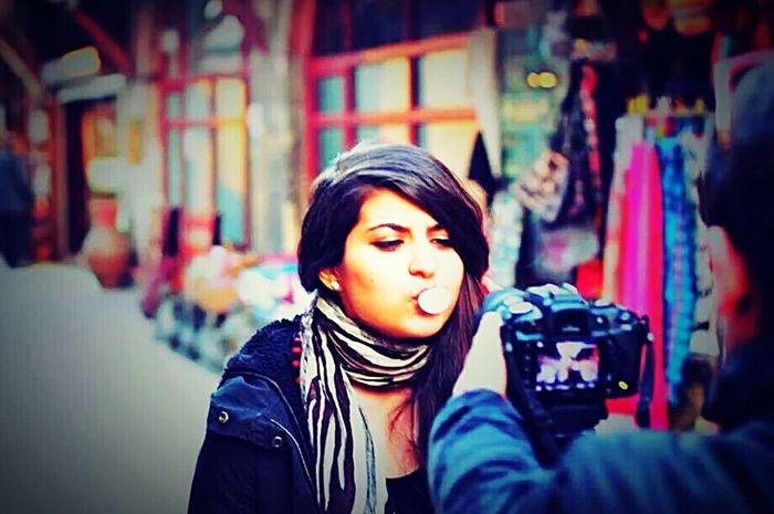 Song clip First Eyeem Photo EyeEm Best Shots FaceShot Hi! ıstanbul That's Me Girl Cypriot Photooftheday Gum Istanbul Turkey Photoofphotographer Colorful Streetphotography Like Like4like Real People Wintertime Best EyeEm Shot Woman Portrait Woman EyeEm Gallery